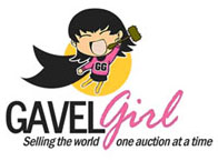 Gavel Girl Logo